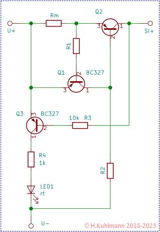 Einfache elektronische Sicherungen