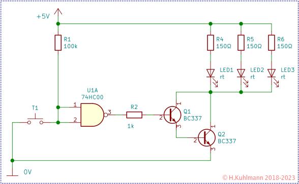 transistoren als schalter. Black Bedroom Furniture Sets. Home Design Ideas