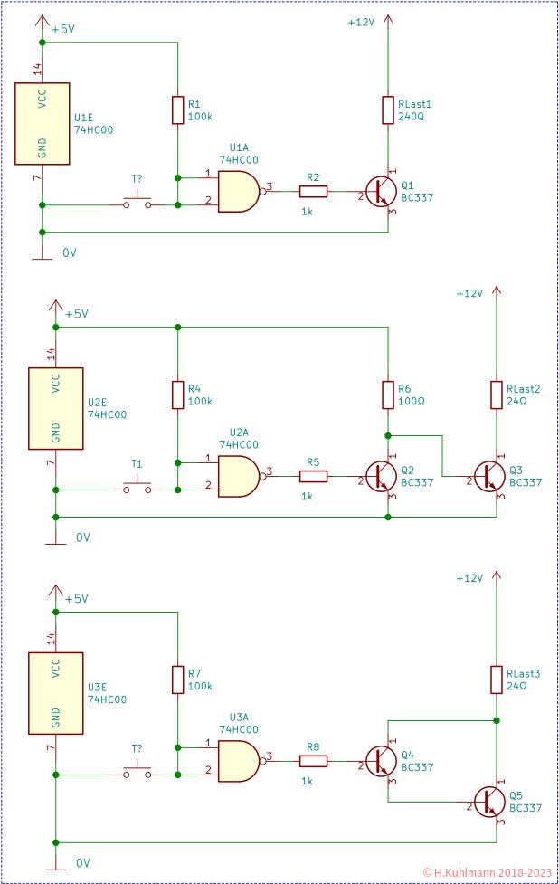 Transistoren als Schalter